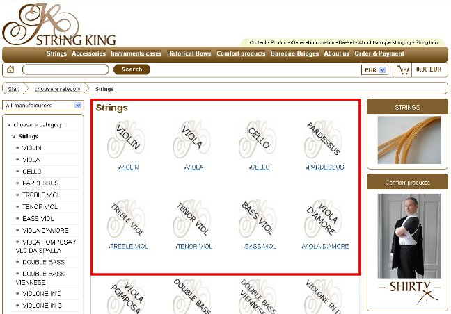 String King how to make an order instrustion 2