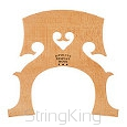 Cello bridge -CB2- Natural - Leg width: 90 mm
