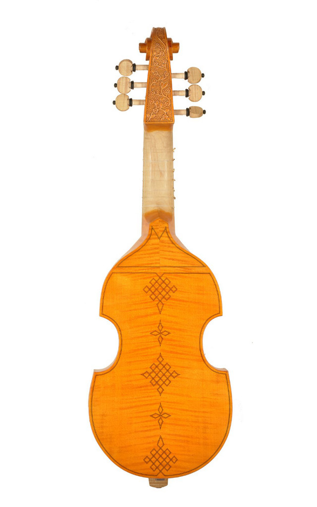 string king pardessus de viole back