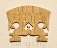 Violin Bridge - Royal-BB - Leg width: 40 mm