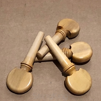 Violin Pegs 18 th c. Model 6- European Boxwood-Set