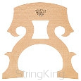 Cello bridge -CB3-Natural- Leg width: 94 mm
