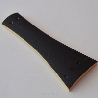 Tailpiece -Violin-Boxwood-Thin Ebony Veneer