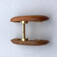 Double-Chinrest-Boxwood-bottom gold fittings