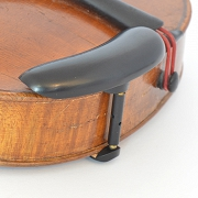 Chinrest Viola – Ebony-bottom mounted, black fittings