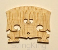 Violin Bridge - Royal-BM - Leg width: 42 mm